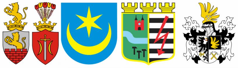 Herby miast od Tarnobrzegu do Żywca